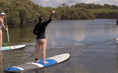 Learn the art of Stand Up Paddleboarding