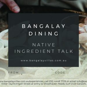 Native Ingredient Talk