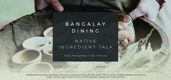 Native Ingredient Talk