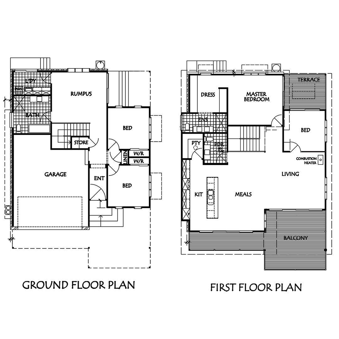 Holiday House Floorplan